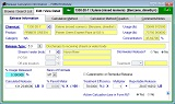 FORM R software: sample screen
